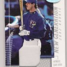 2002 LEAF CERTIFIED JOSH PHELPS BLUE JAYS ROOKIE JERSEY CARD