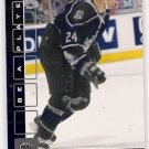 2001-02 BE A PLAYER ADAM MAIR KINGS SAPPHIRE LIMTED CARD #'D 86/100!