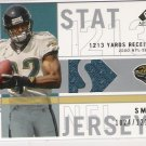 2001 SP AUTHENTIC JIMMY SMITH JAGUARS STAT JERSEY CARD