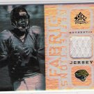 2005 UPPER DECK REFLECTIONS BYRON LEFTWICH FABRIC REFLECTIONS JERSEY CARD