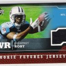 2005 UPPER DECK COURTNEY ROBY TITANS ROOKIE FUTURES JERSEY CARD