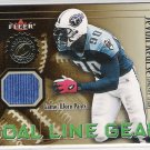 2001 FLEER JEVON KEARSE TITANS GOAL LINE GEAR GAME WORN PANTS CARD
