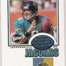 2001 UPPER DECK VINTAGE THREADS MARK BRUNELL JAGUARS JERSEY CARD