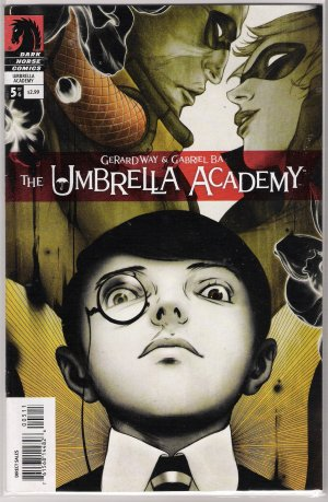 THE UMBRELLA ACADEMY APOCALYPSE SUITE #5 GERARD WAY-NEVER READ!