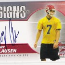 2004 BOWMAN CASEY CLAUSEN CHIEFS SIGNS OF THE FUTURE AUTOGRAPHED CARD