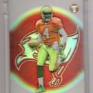 2002 TOPPS PRISTINE MARQUISE WALKER BUCCANEERS UNCIRCULATED REFRACTOR CARD