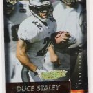 1999 COLLECTOR'S EDGE FURY DUCE STALEY EAGLES GOLD INGOT PARALLEL CARD