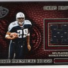2003 PLAYOFF HOGG HEAVEN CHRIS BROWN TITANS ROOKIE PREMIERE HOGGS JERSEY CARD