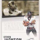 2006 PLAYOFF PRESTIGE STEVEN JACKSON RAMS TURNING PRO INSERT CARD