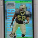 2005 BOWMAN CHROME ALFRED FINCHER SAINTS UNCIRCULATED GREEN REFRECTOR ROOKIE CARD