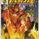 FLASH 1/2  WITH COA GEOFF JOHNS-NEVER READ!