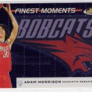 2006-07 TOPPS FINEST MOMENTS ADAM MORRISON BOBCATS INSERT CARD