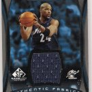 2004-05 UPPER DECK SP GAME USED JARVIS HAYES WIZARDS JERSEY CARD