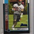 2002 BOWMAN MATT SCHOBEL BENGALS UNCIRCULATED ROOKIE CARD