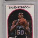 1989-90 HOOPS DAVID ROBINSON SPURS ROOKIE GRADED GEM MINT 10!