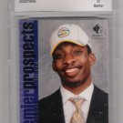 2007-08 SP ROOKIE EDITION JEFF GREEN SONICS GRADED ROOKIE CARD BCCG 10!