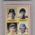 1978 TOPPS PAUL MOLITOR/ALAN TRAMMEL ROOKIE CARD GRADED FGS 10!