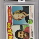 1975 TOPPS CHARLEY TAYLOR/FRED BILETNIKOFF ALL-PRO GRADED FGS 10!