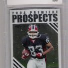 2004 TOPPS CHROME LEE EVANS PREMIERE PROSPECTS GRADED CARD BCCG 10!