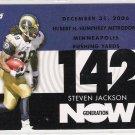 2007 TOPPS STEVEN JACKSON RAMS GENERATION NOW INSERT