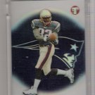 2002 TOPPS PRISTINE DANIEL GRAHAM PATRIOTS UNCIRCULATED ROOKIE REFRACTOR CARD #'D 062/999!