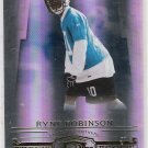 2007 DONRUSS THREADS RYNE ROBINSON PANTHERS ROOKIE CARD #'D 756/999!