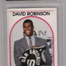1989 HOOPS DAVID ROBINSON SPURS ROOKIE CARD GRADED FGS10!
