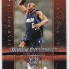 2003-04 UPPER DECK ROOKIE EXCLUSIVES JOSH HOWARD MAVERICKS ROOKIE CARD