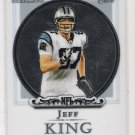 2006 BOWMAN STERLING JEFF KING PANTHERS ROOKIE CARD