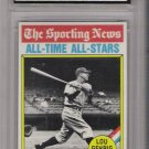 1976 TOPPS LOU GEHRIG CARD GRADED FGS 10!