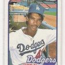 1989 TOPPS RAMON MARTINEZ DODGERS ROOKIE CARD