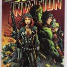 SECRET INVASION #4 RARE MEL RUBI DF VARIANT COVER-NEVER READ!