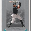 2005 DONRUSS TIMELESS TRIBUTES SILVER  MIGUEL CABRERA  MARLINS CARD #'D 025/100!