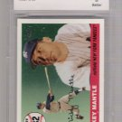2006 TOPPS MICKEY MANTLE HOME RUN HISTORY #282 GRADED BCCG 10!