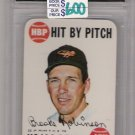 1968 TOPPS GAME BROOKS ROBINSON ORIOLES HIT BY PITCH CARD GRADED FGS 10!