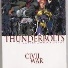 THUNDERBOLTS TPB CIVIL WAR-NEVER READ!