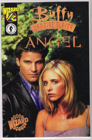 BUFFY THE VAMPIRE SLAYER ANGEL 1/2 VARIANT PHOTO COVER-NEVER READ!