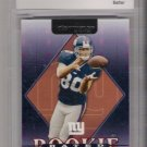 2002 DONRUSS JEREMY SHOCKEY ROOKIE CARD GRADED BCCG10!