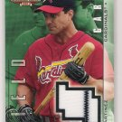 2002 UPPER DECK BALLPARK IDOLS TINO MARTINEZ CARDINALS JERSEY CARD