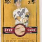 2000 SP TOP PROSPECTS TOBY HALL GAME USED BAT CARD