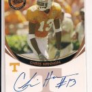 2006 PRESSPASS CHRIS HANNON VOLUNTEERS ROOKIE AUTO CARD