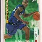 1996-97 FLEER ULTRA STEPHON MARBURY ENCORE ROOKIE CARD