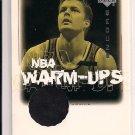 2000-01 UD ENCORE HANNO MOTTOLA HAWKS WARM-UPS CARD