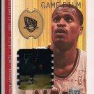 2001-02 UD STEPHEN JACKSON NETS UD GAME FLOOR/GAME FILM CARD