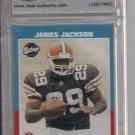 2001 UPPER DECK VINTAGE JAMES JACKSON BROWNS ROOKIE CARD GRADED TFA 9!