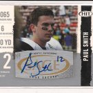 2008 SAGE HIT PAUL SMITH TULSA ROOKIE AUTO CARD
