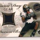 2008 PRESSPASS DORIEN BRYANT PURDUE JERSEY CARD #'D 273/299!