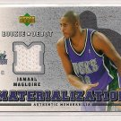 2006-07 UPPER DECK ROOKIE DEBUT JAMAAL MAGLOIRE BUCKS MATERIALIZAION JERSEY CARD