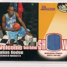 2005-06 BOWMAN WELCOME TO THE SHOW JULIUS HODGE NUGGETS JERSEY CARD