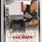 2003-04 SP GAME USED KEITH VAN HORN JERSEY CARD